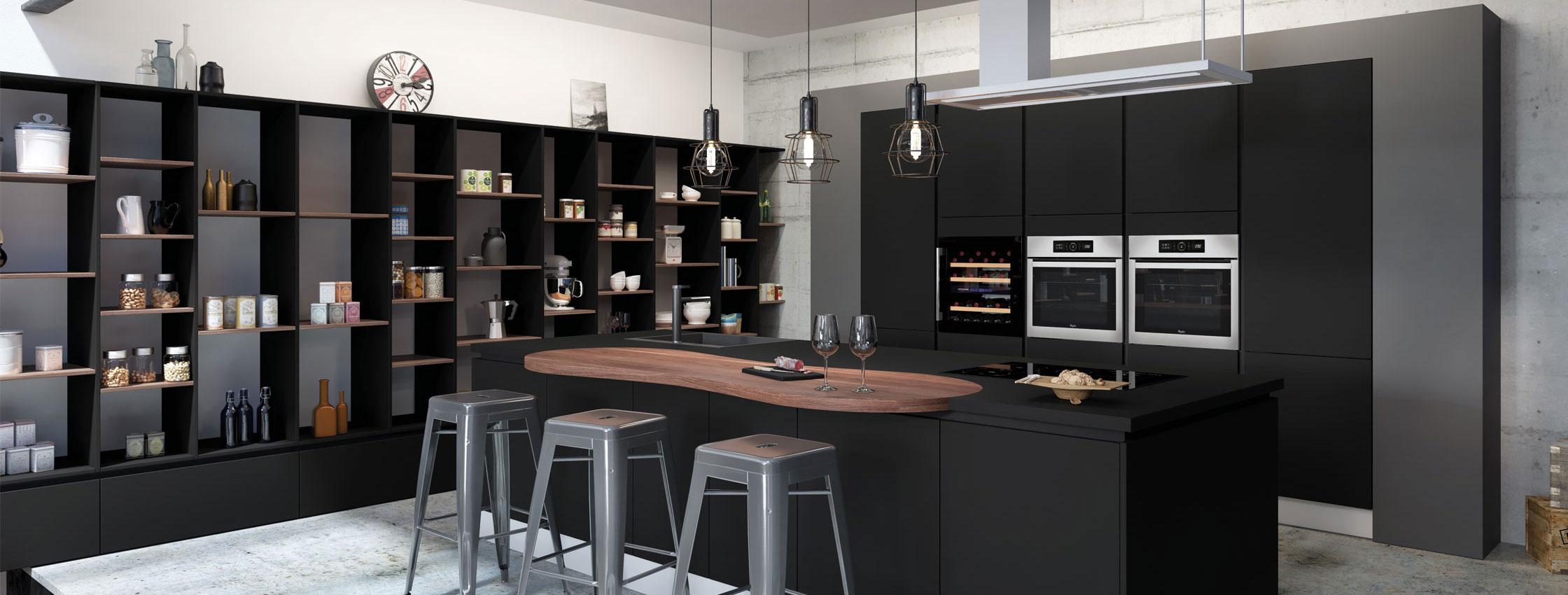 les cuisines en strastifi comera cuisines. Black Bedroom Furniture Sets. Home Design Ideas