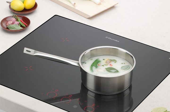 electrolux  elx induction benefit simply design luxurious