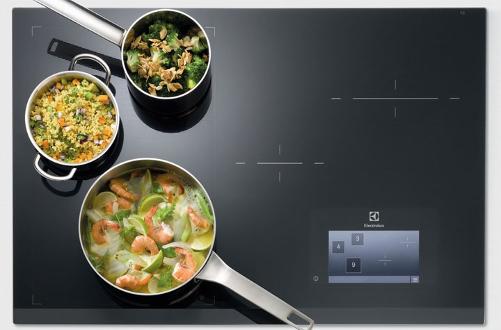 electrolux  elx induction fullwidth freezone