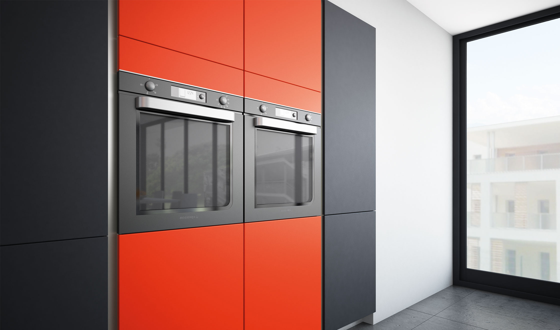 glossy armoire comera cuisines