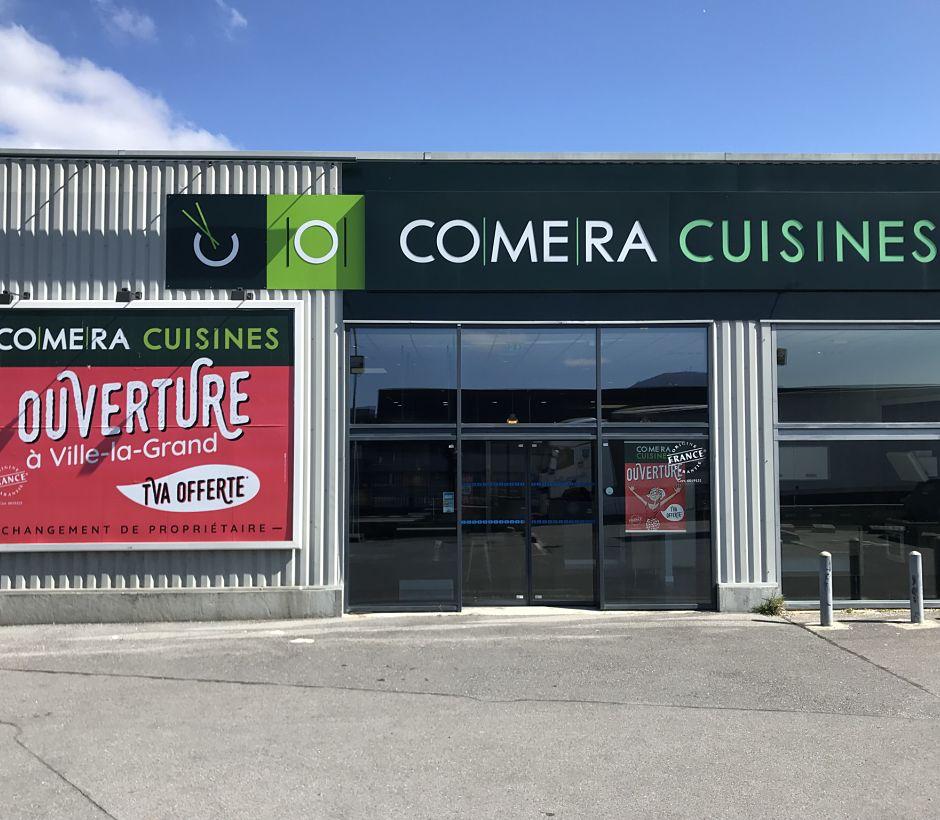 Bienvenue dans votre magasin COMERA Cuisines de Annemasse - Ville-la-Grand !