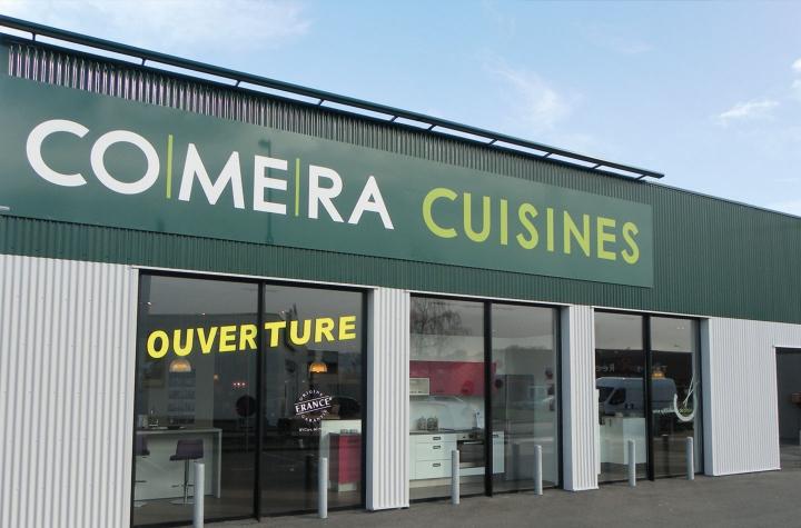 photo du magasin COMERA Cuisines à la Chapelle Saint-Aubin (72)