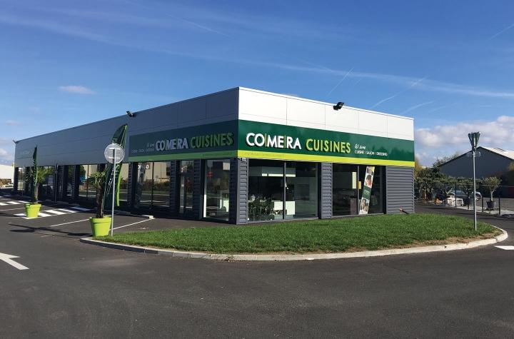 photo du magasin COMERA Cuisines à Montbrison (42)