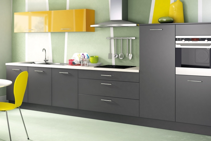 nos cuisines design moderne bois avec lot comera cuisines. Black Bedroom Furniture Sets. Home Design Ideas