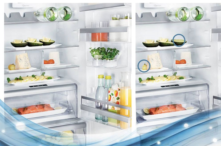 whirpool frigo ouvert