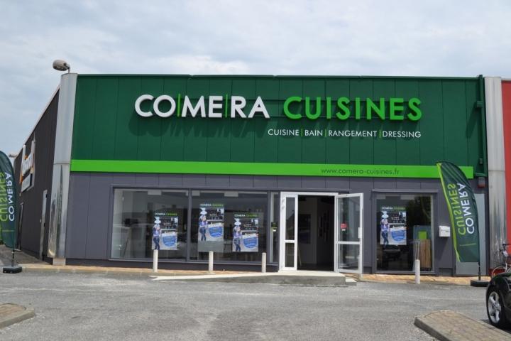 photo du magasin COMERA Cuisines à Mérignac – Bordeaux (33)