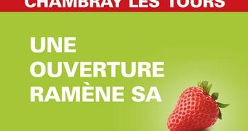 CHAMBRAY LES TOURS X