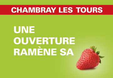 CHAMBRAY LES TOURS X