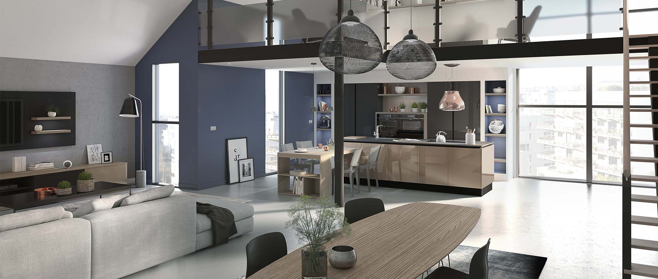 Comera cuisines cuisiniste francais cuisine quip e am nag e - Fabricant de cuisine en france ...