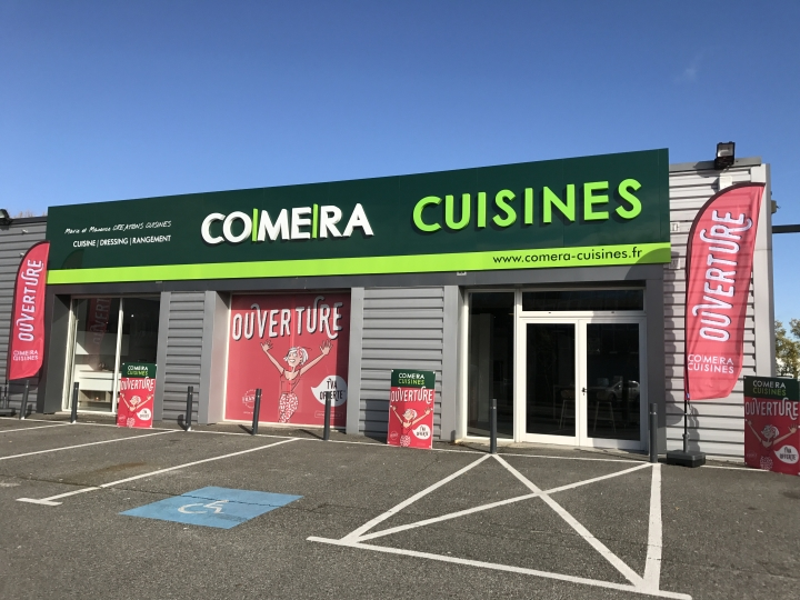 photo du magasin COMERA Cuisines à Montauban (82)