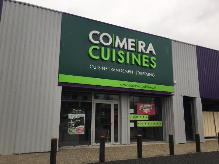 photo du magasin COMERA Cuisines à Figeac (46)