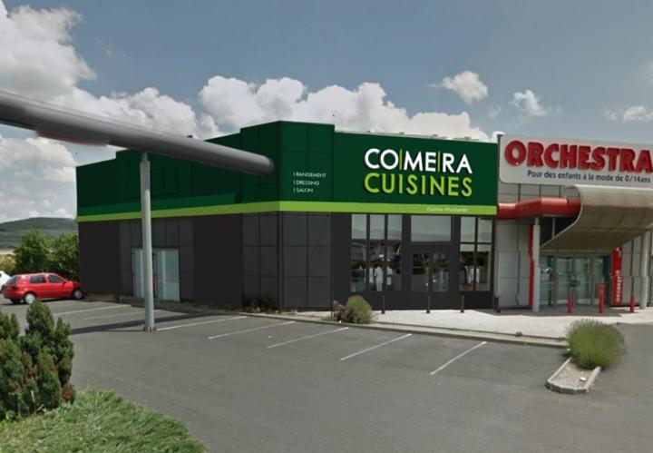 photo du magasin COMERA Cuisines à Clermont-Ferrand (63)