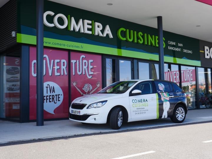 photo du magasin COMERA Cuisines à Perpignan (66)