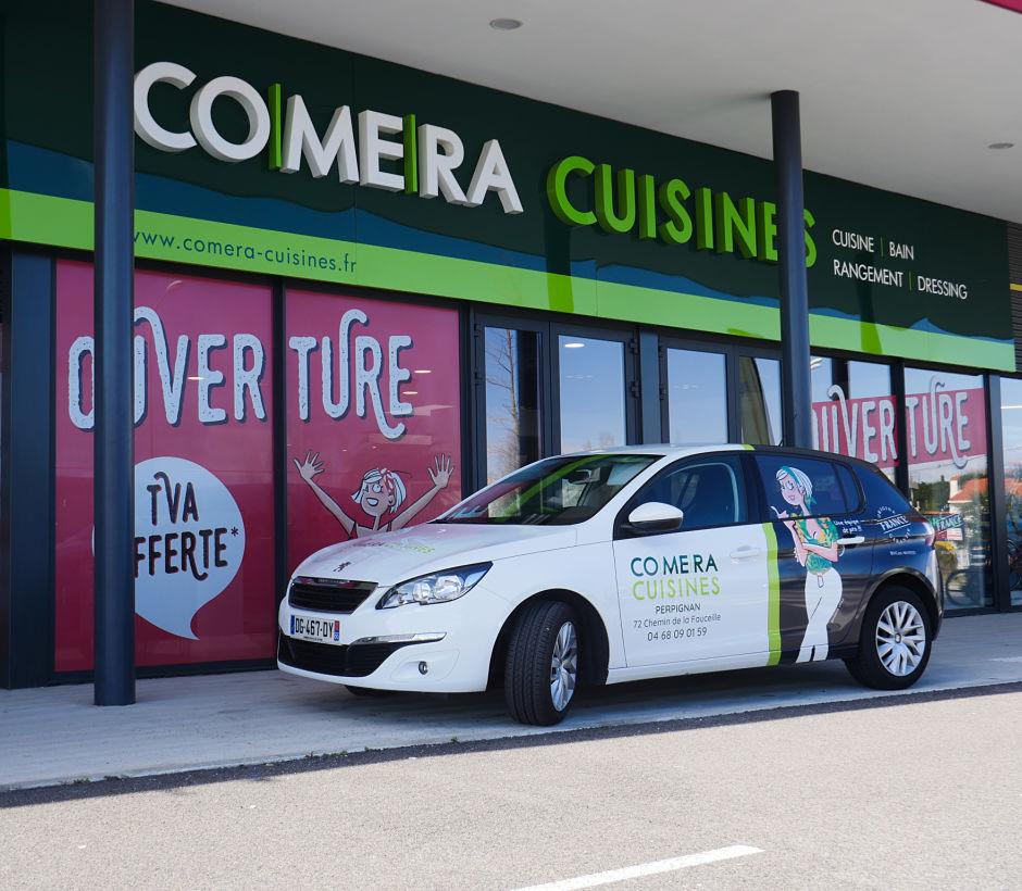 Bienvenue dans votre magasin COMERA Cuisines de Perpignan - Cabestany