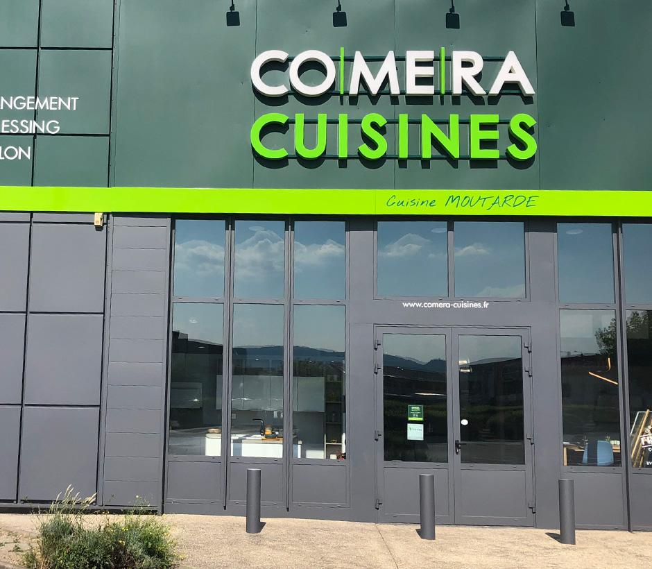 Bienvenue dans votre magasin COMERA Cuisines de Aubière - Clermont-Ferrand