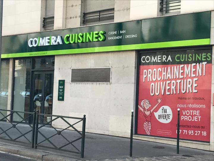 photo du magasin COMERA Cuisines à Asnières (92)
