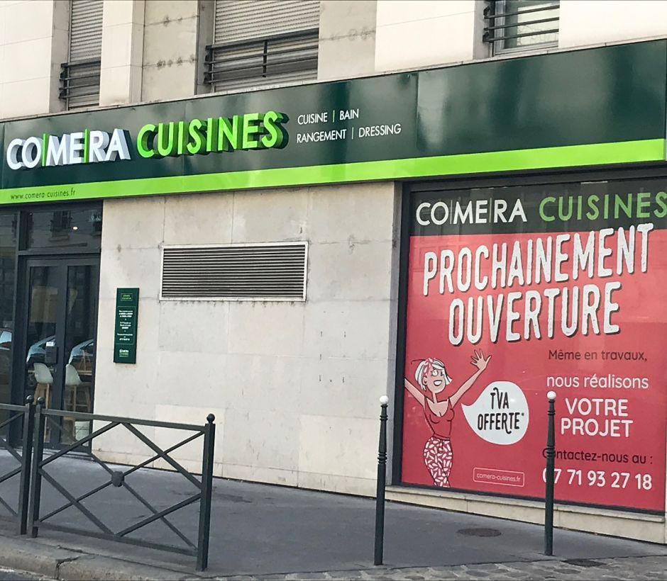 Bienvenue dans votre magasin COMERA Cuisines d'Asnières-sur-Seine !
