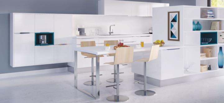 La cuisine COMERA Kiss, moderne et modulable