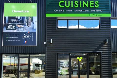 COMERA CUISINES - Actualités du réseau - 2 nouveaux magasins de cuisines COMERA à Coignières (78) et Chambéry (73) !