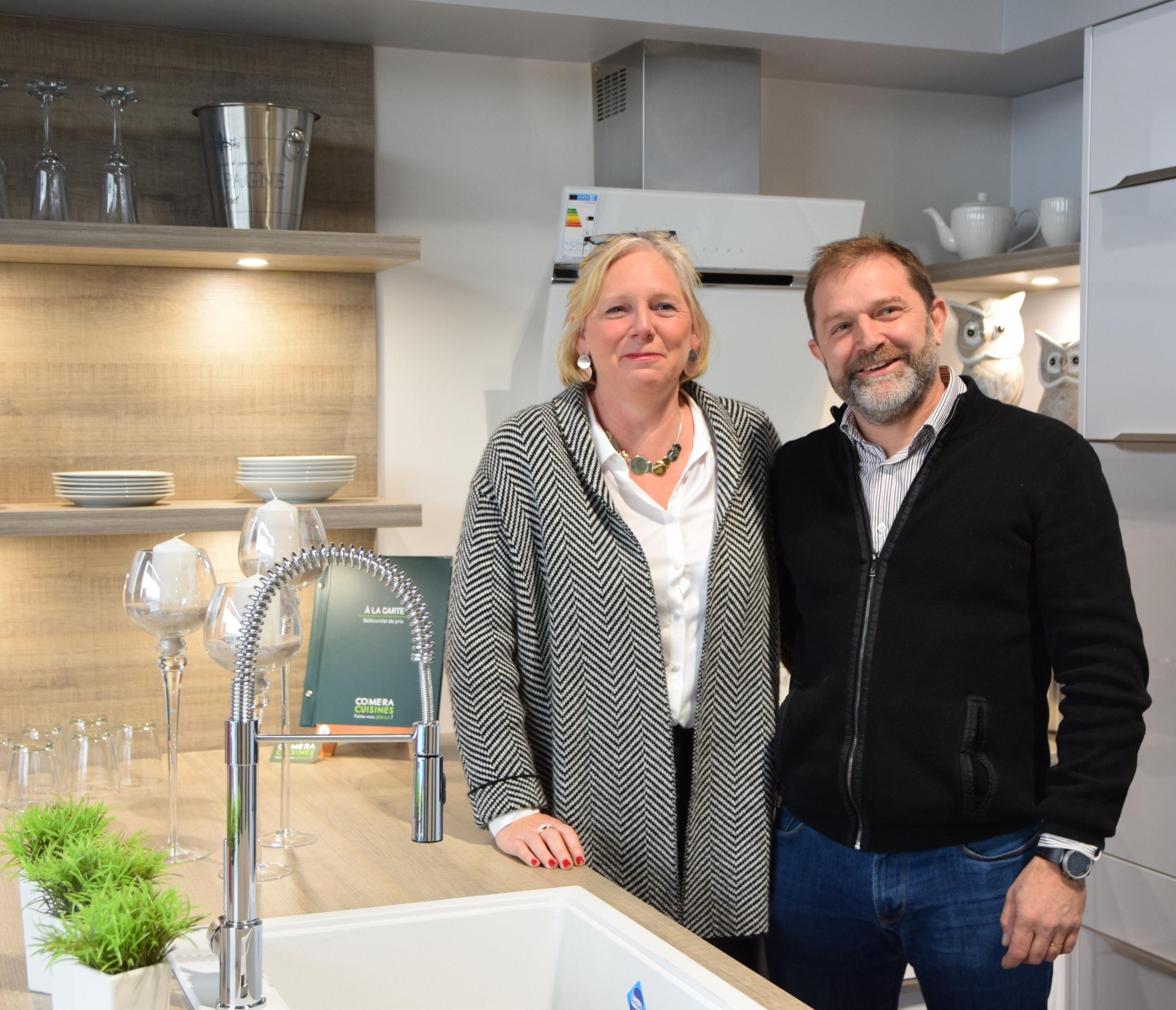 COMERA CUISINES |  Stéphanie et Frédéric WEBER, concessionnaires COMERA Cuisines