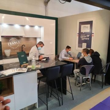 Votre magasin de cuisines COMERA Orléans au Salon de l'habitat !