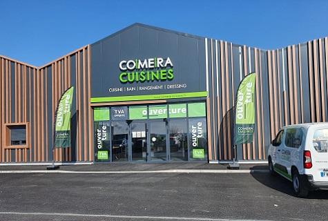 COMERA CUISINES - Actualités du réseau - De nouveaux cuisinistes COMERA ont ouvert leurs portes à Marquise (62) et Firminy (42)