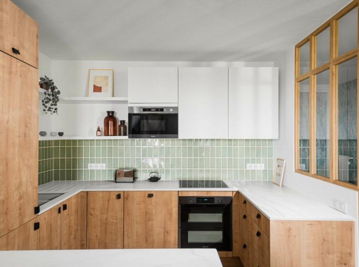 cuisine-contemporaine-verte